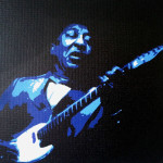 Muddy Waters - Spray painted by Andrew Finch